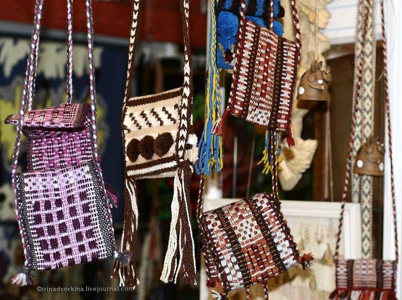 Тканые сумочки