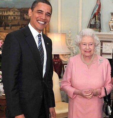 одна королева на 11 президентов