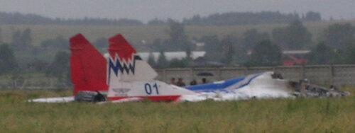 Авария самолета 2006 год