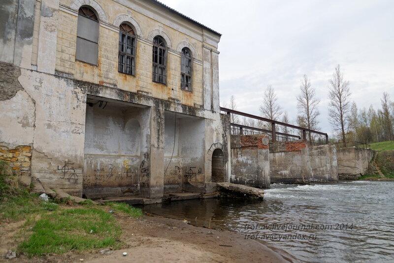Заброшенная Горбовская ГЭС, Московская обл.