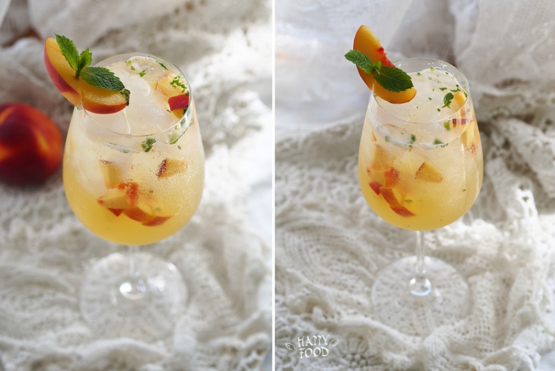 Фруктовый коктейль с просеко
