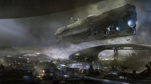 Halo 5 - Разведданные №4: Станция Меридиан