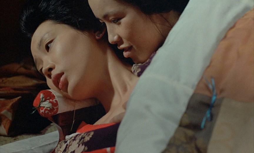 3. Картина «Империя чувств» режиссера Нагисы Осимы повествует о юной, сексуально активной девушке, к