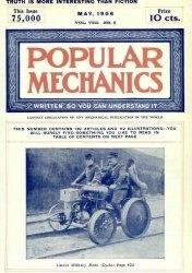 Журнал Popular mechanics №5 1906