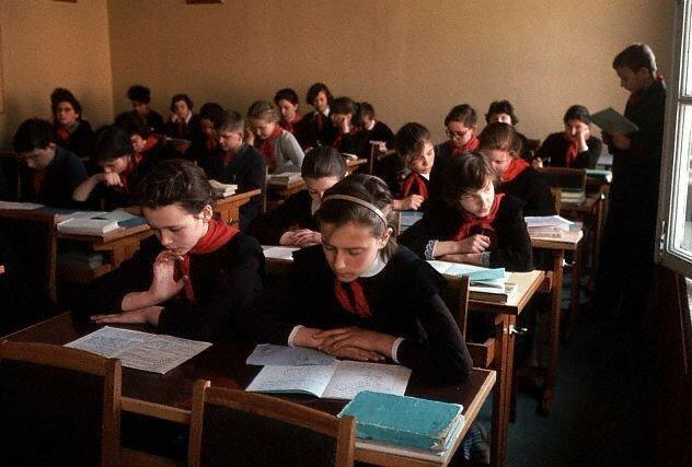 Школьный класс 65-го