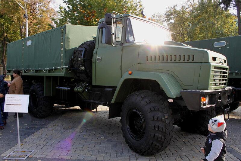 Грузовой автомобиль КРАЗ-6322