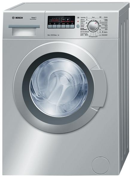 серебристая стиральная машина Bosch Краснодар