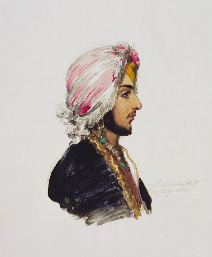 Махараджа Далип Сингх (1837-1893)  датируется 15 июля 1854