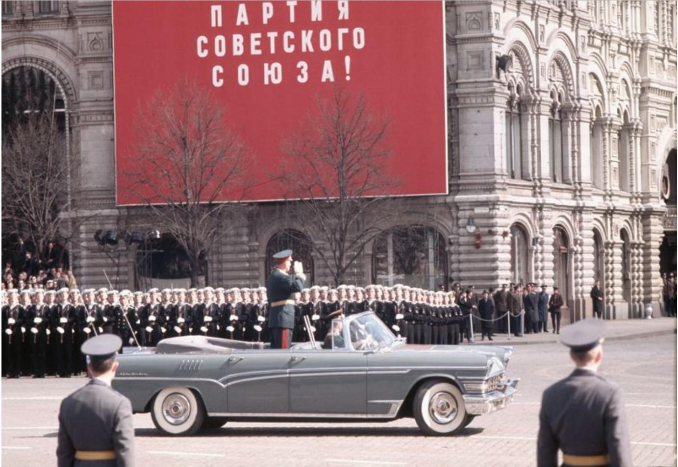 1966. Георг Одднер в Москве. Часть 2. Первомай
