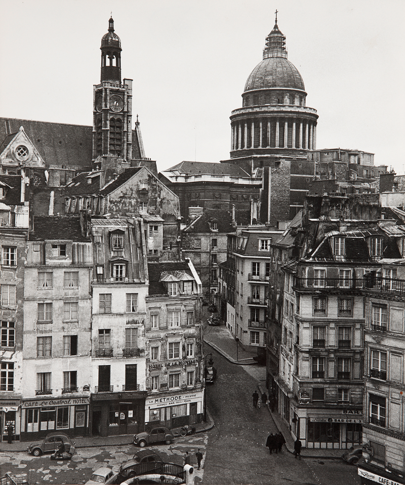 1960. Рю де ла Монтань Сент-Женевьев