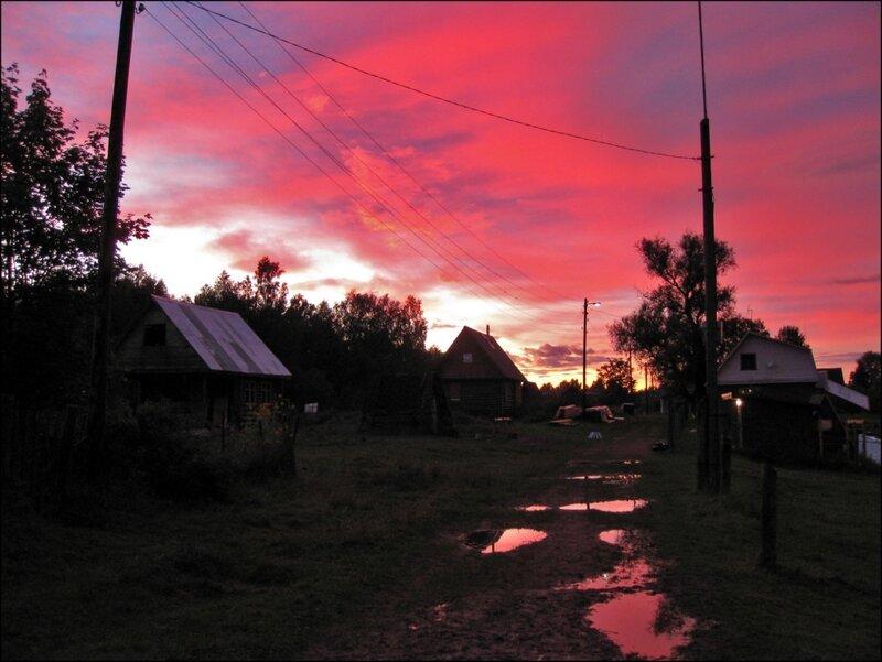 Закат после бури