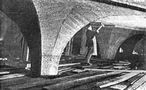 Строительство станции Кропоткинская