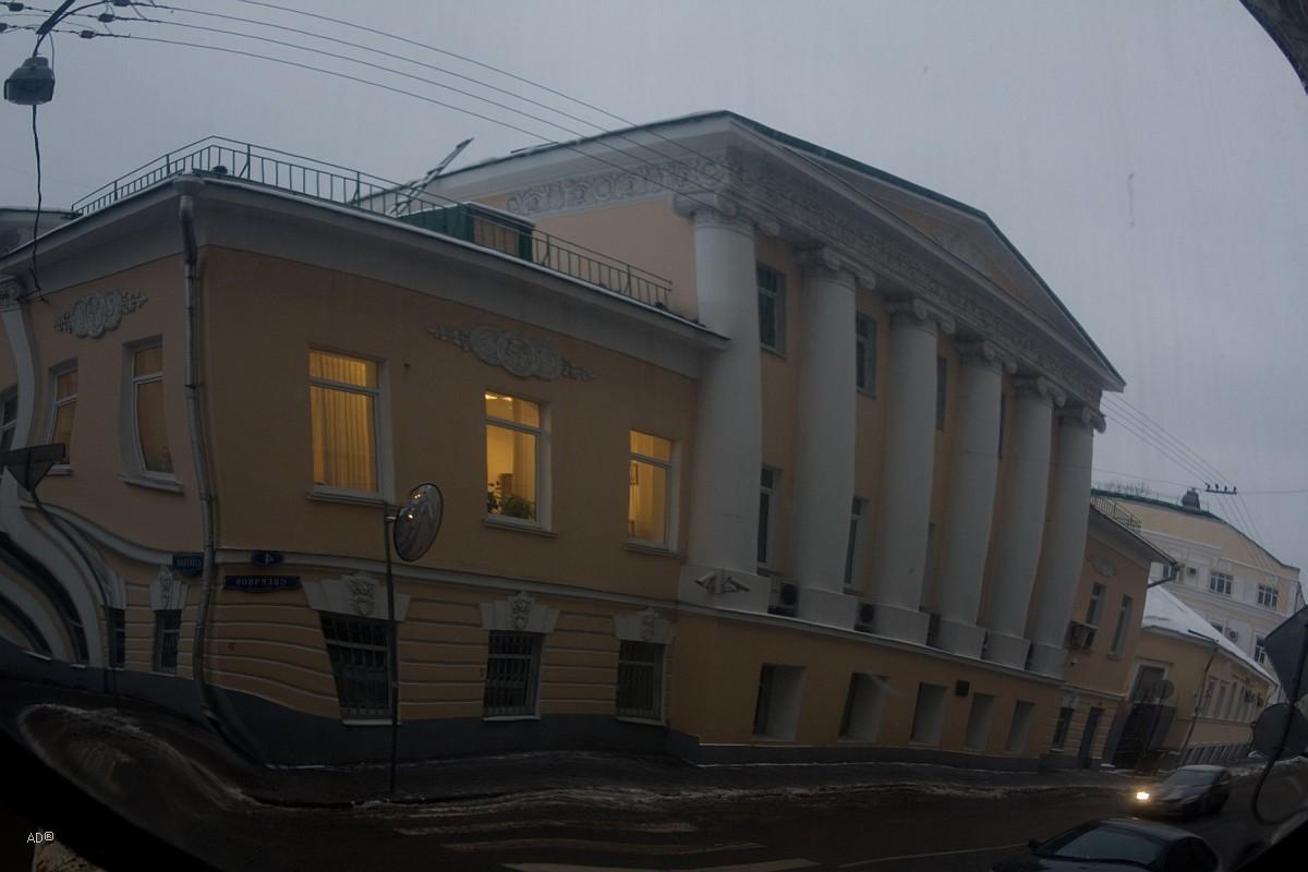 Прогулка по Москве (М. Златоустинский пер.)