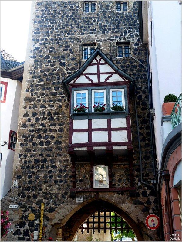 Старинные ворота Линца.