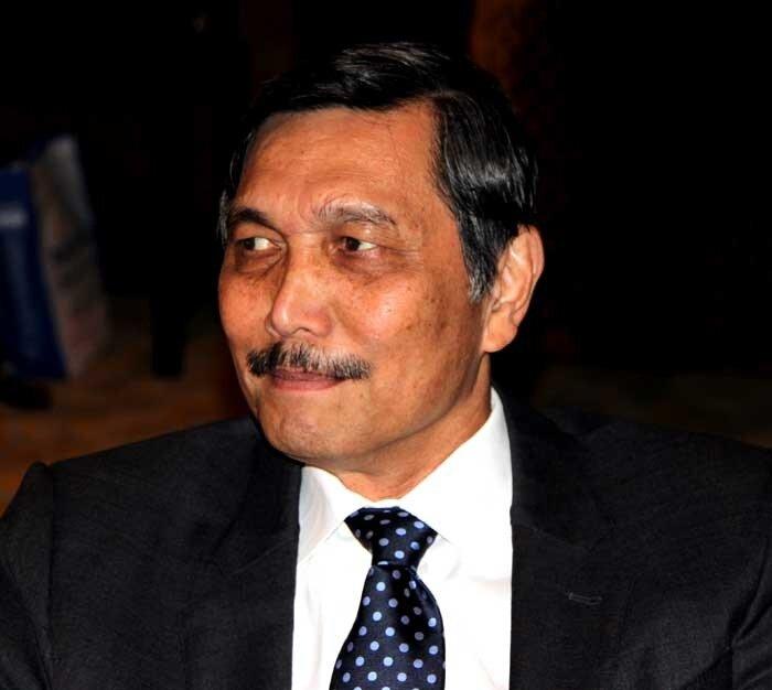 глава Индонезийско-российского делового совета бывший министр промышленности Индонезии, генерал в отставке Лухут Панджаитан