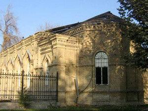 Ташкент.Большевики убрали у церкви купола и отдали здание под библиотеку.Храм снесён в это воскресенье