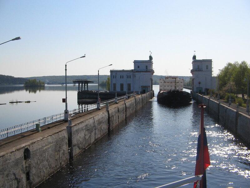 Шлюз Верхне-Свирской ГЭС