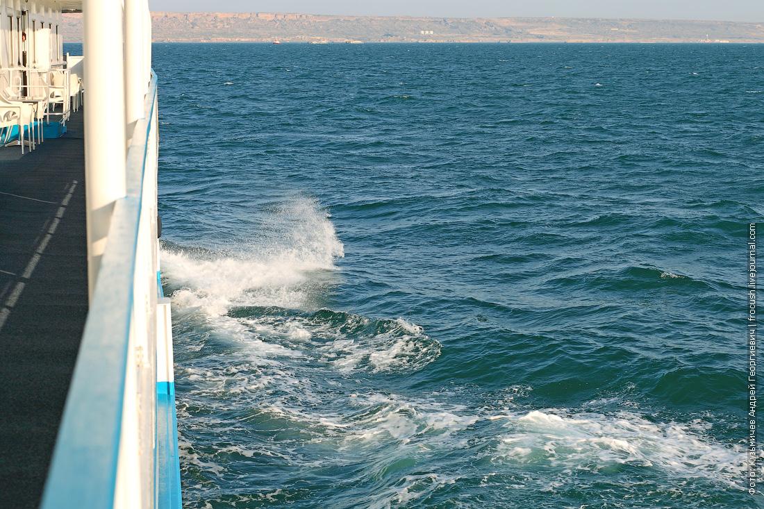 казахский берег Каспийского моря