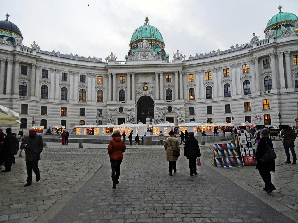 Вена, площадь Святого Михаила