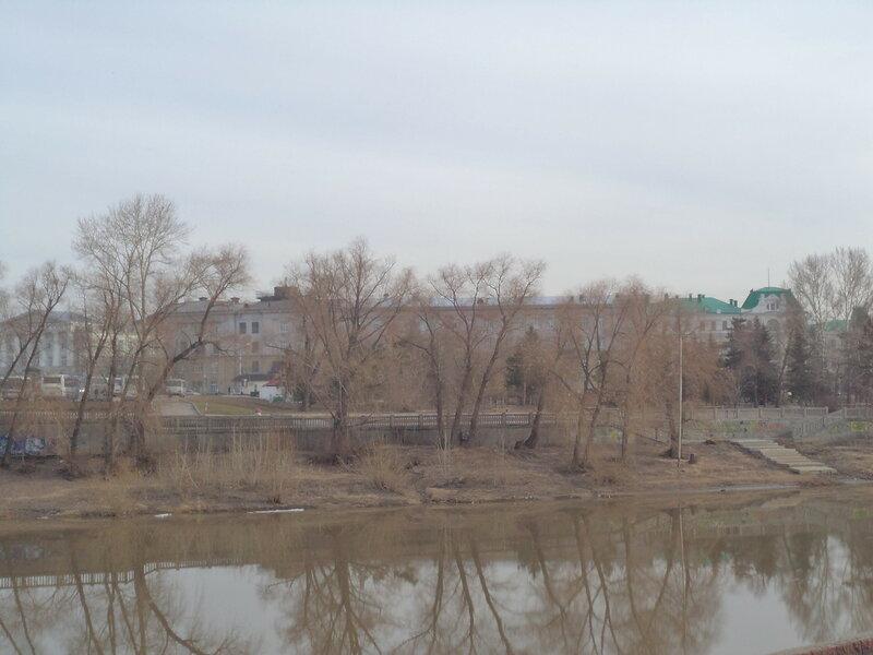 Весна в Омске
