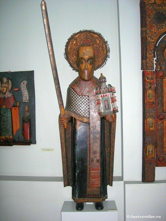 Пермская государственная художественная галерея. Никола Можайский (XVII век)