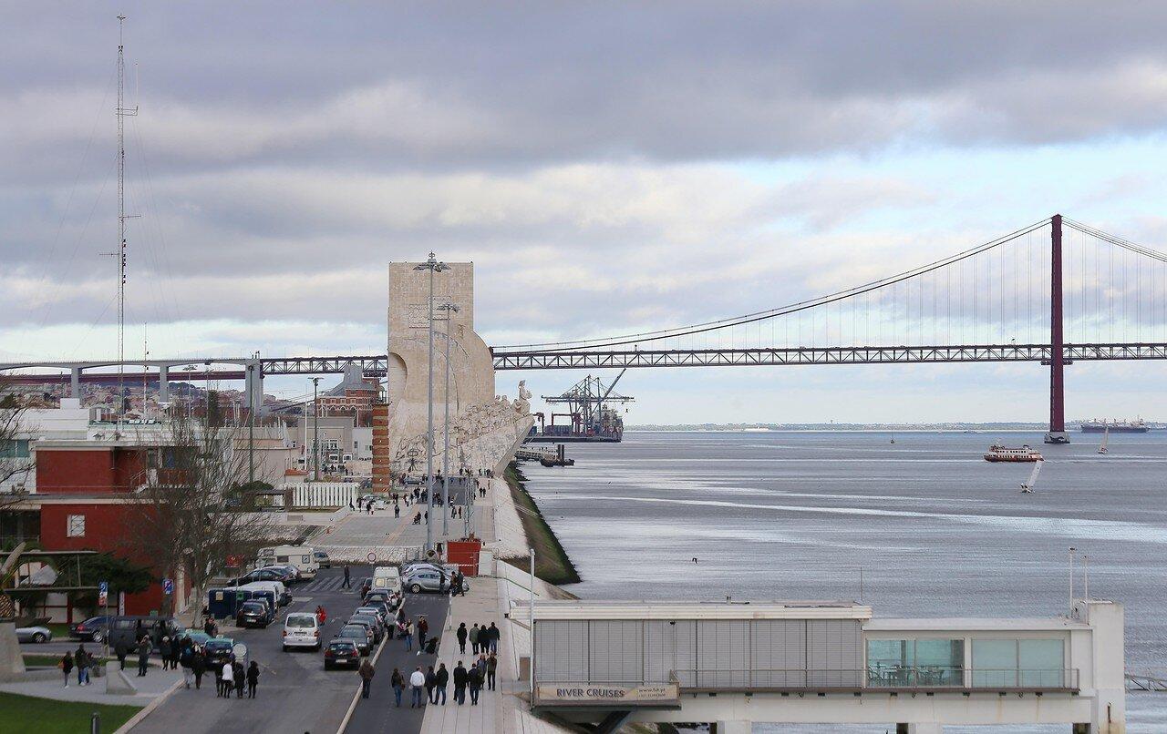 Lisbon. View from Torre de belém tower