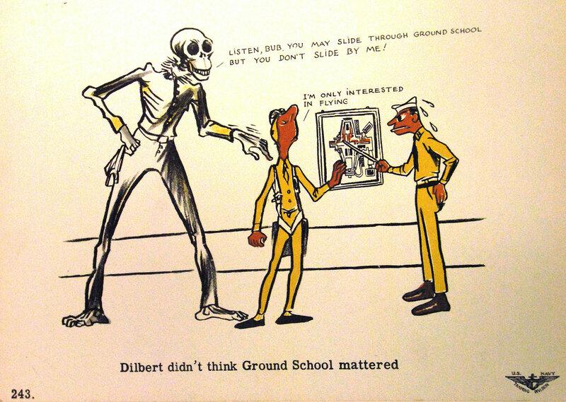 Dilbert didn't think Ground School mattered