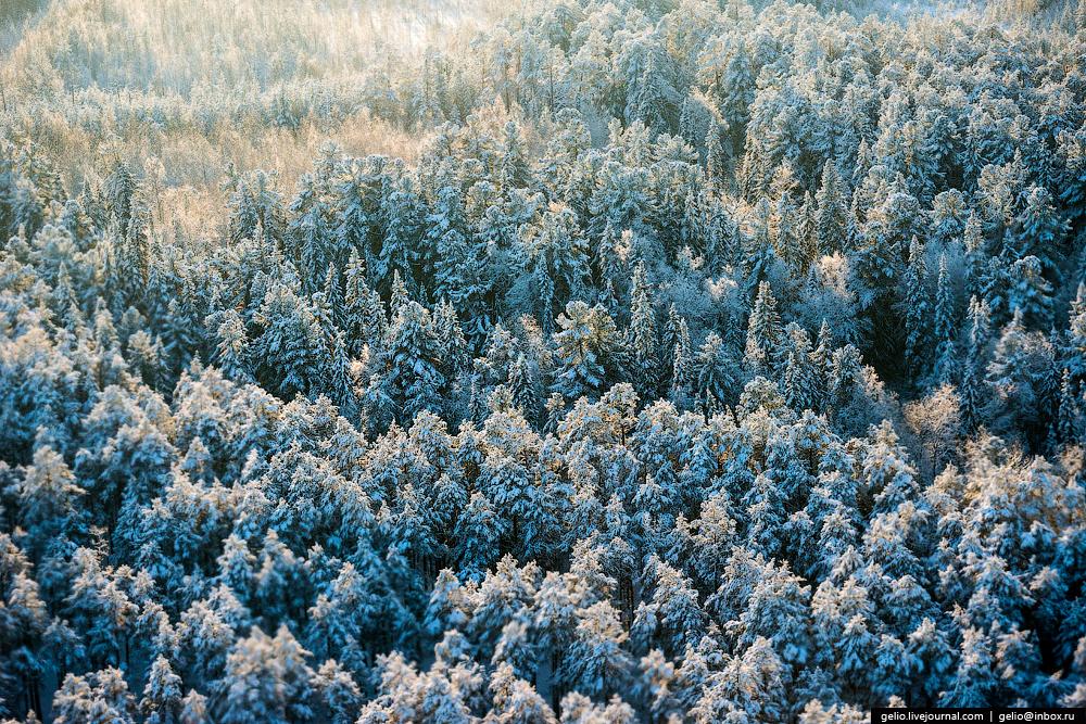 Югра с высоты. Ханты-Мансийский автономный округ (ХМАО)