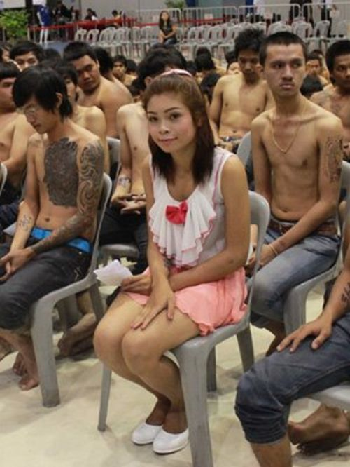 Призывники армии Таиланда