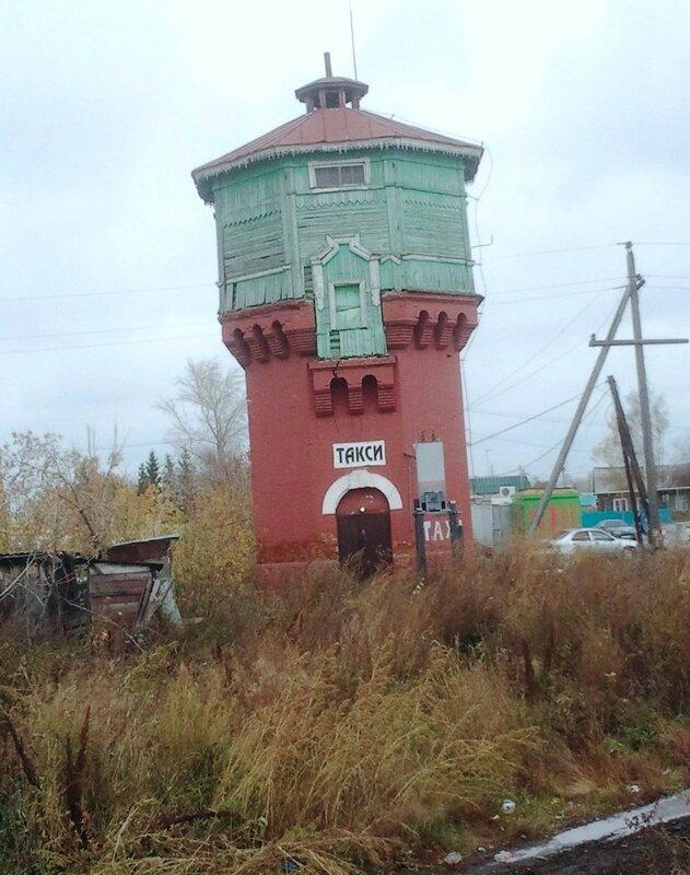 Россия, Коченево - водонапорная башня (Russia, Kochenevo - Water Tower)