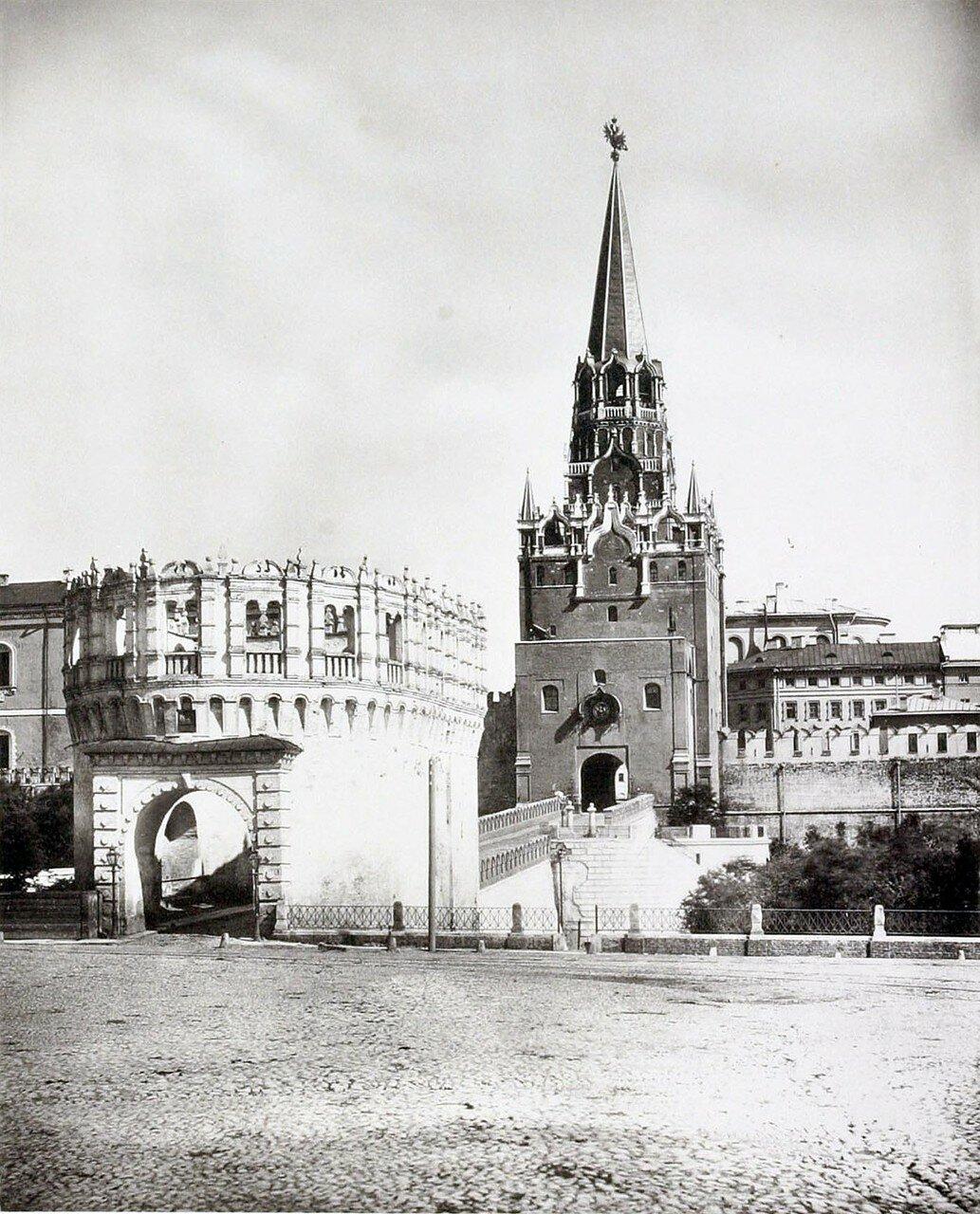 386. Троицкие ворота и башня Кутафья
