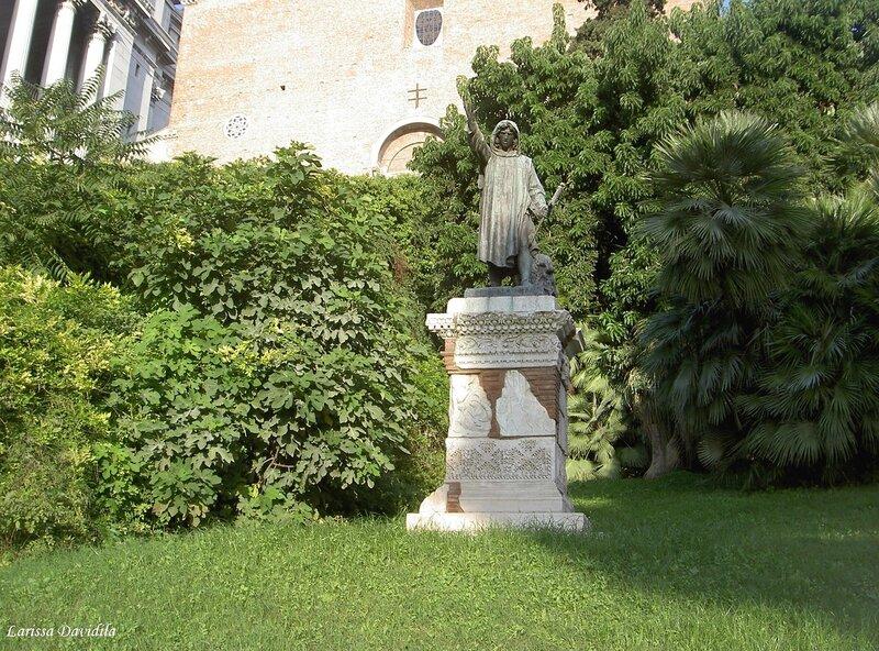 Статуя Колы де Риенцо