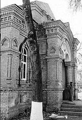 Снесённый в в Воскресенье Храм Александра Невского в Ташкенте.
