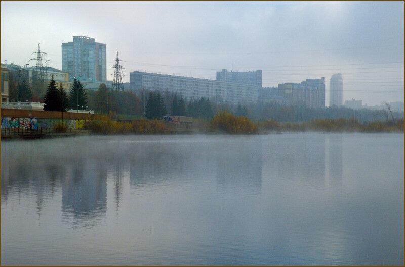 Красноярск, утро 8 октября