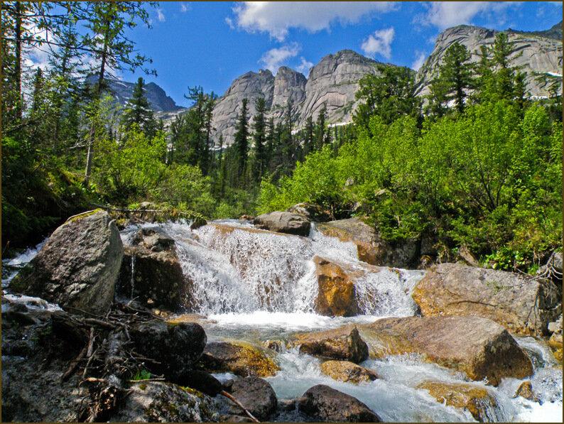 Водопадик на Тайгише