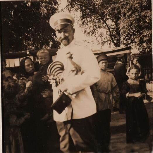 Один из гостей семьи князей Юсуповых в имении