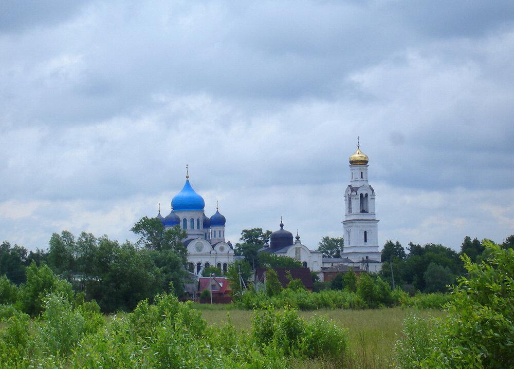 Село Рогачево. По пути из Клина в Дмитров.
