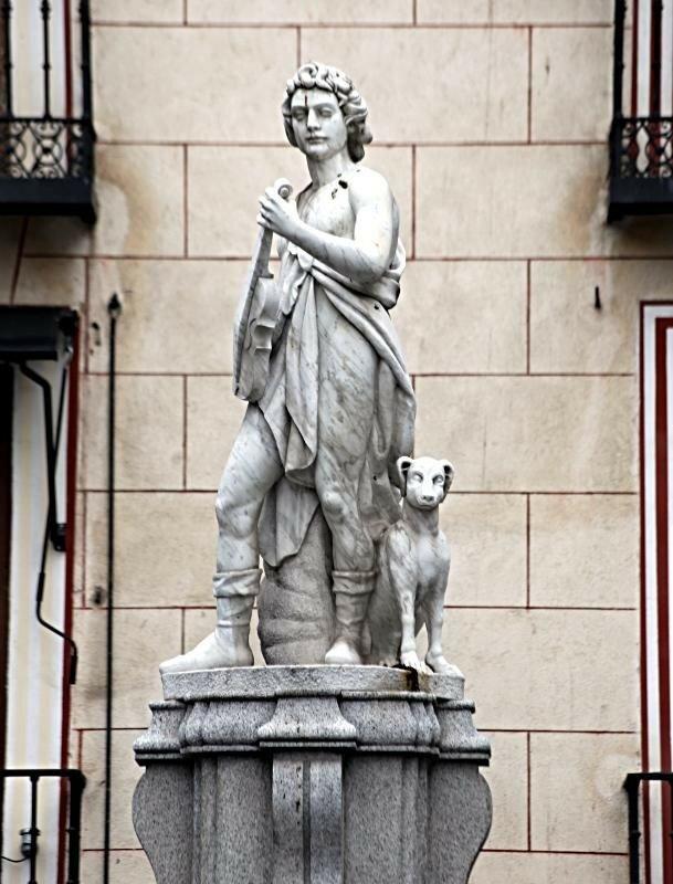 Мадрид. Фонтан Орфея (Fuente de Orfeo)
