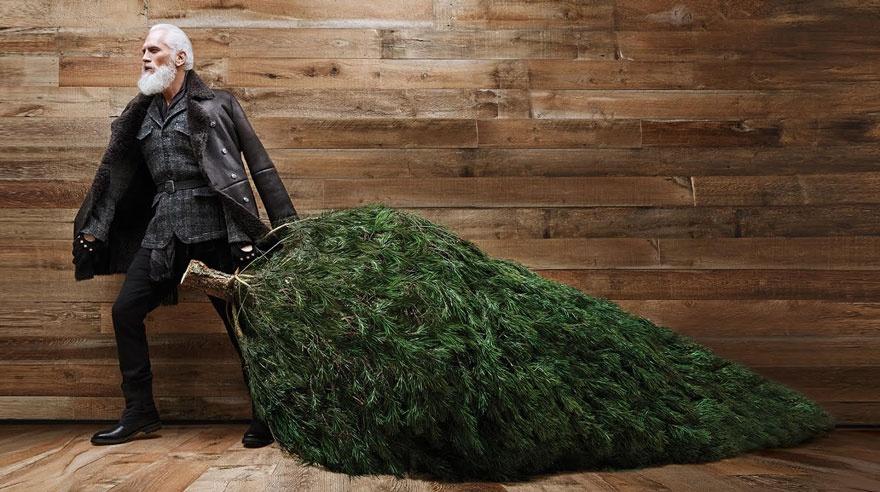 Втакого Санта-Клауса захотят поверить даже взрослые (10 фото)