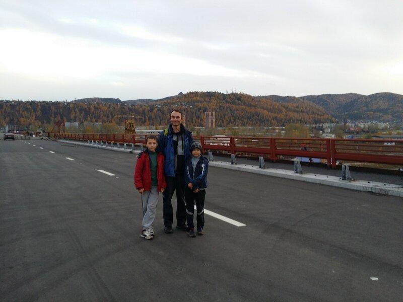 Столбы-Каштаковская тропа-Бобровый лог-4 мост пешком