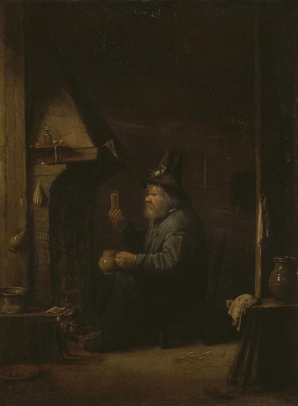 Иос Ван Красбек, Пьяница, 1640, Эрмитаж