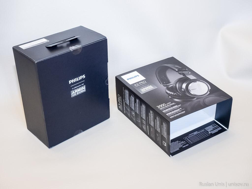 Обзор наушников Philips A3-PRO
