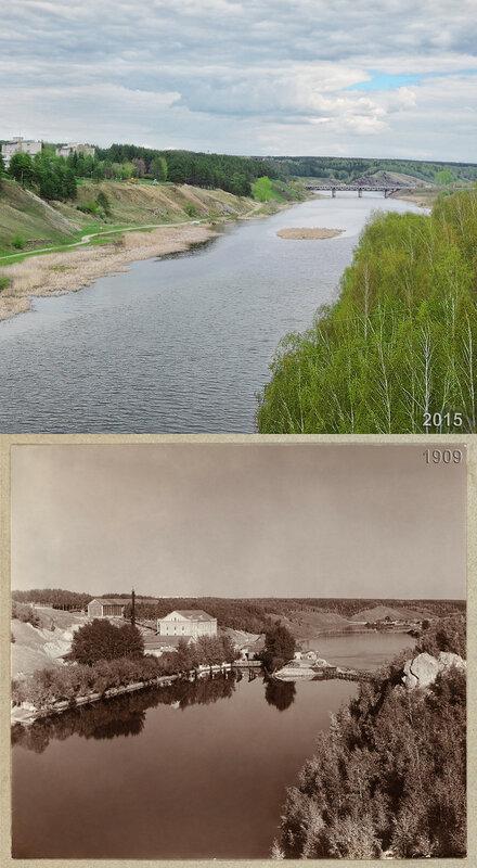 Сосненская мельница на р. Исети.