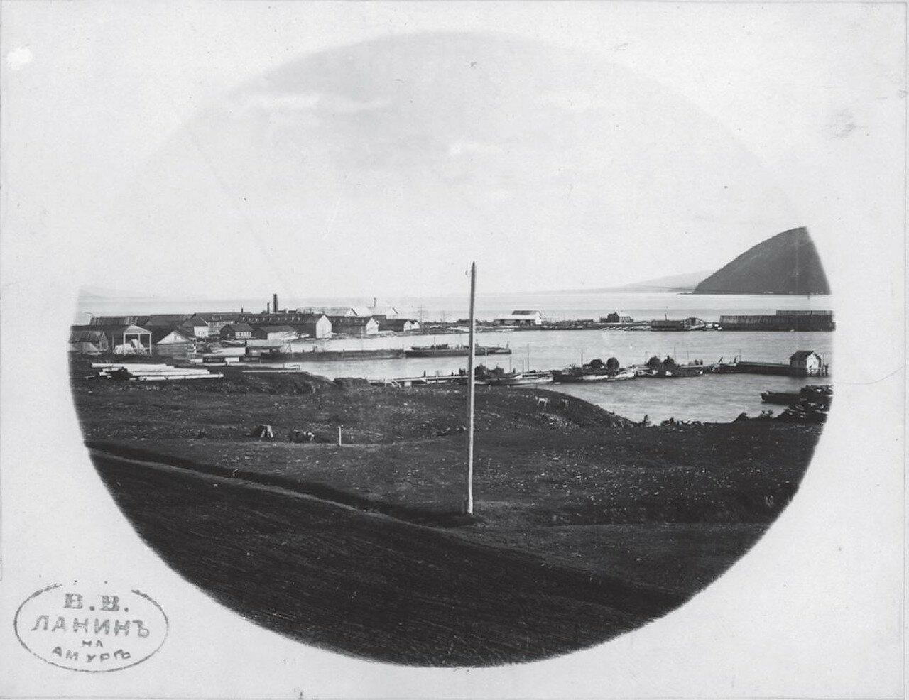 Порт и вход в устье Амура