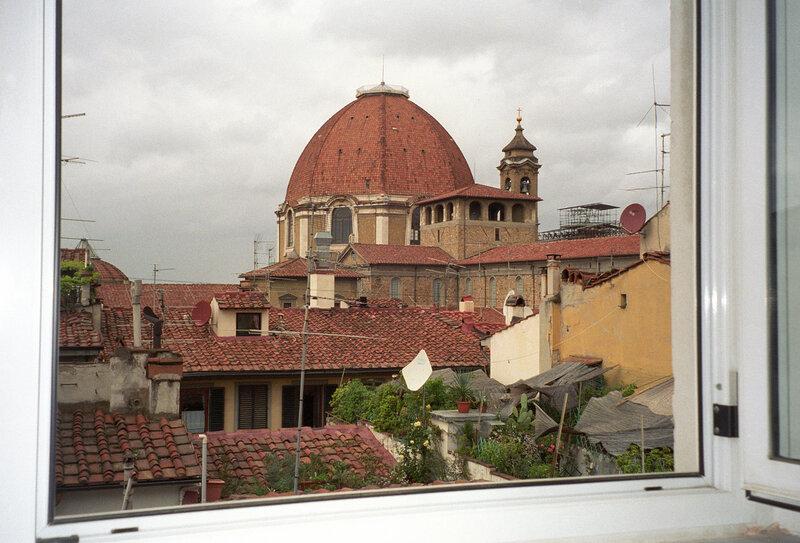 Вид из окна на Сан-Лоренцо