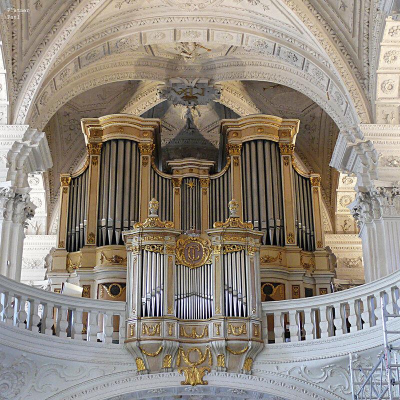 Орган в церкви св.Андреаса, Дюссельдорф, Германия