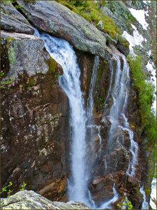 Верхняя часть водопада Грация