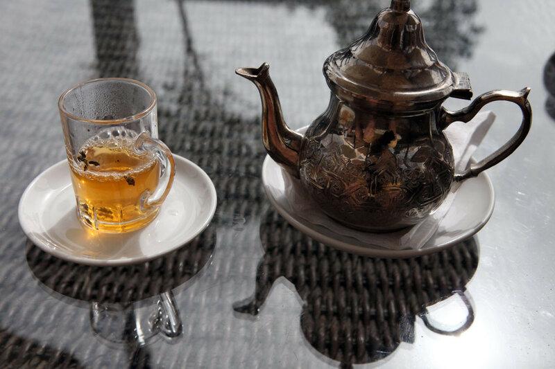 Марокко - мятный чай