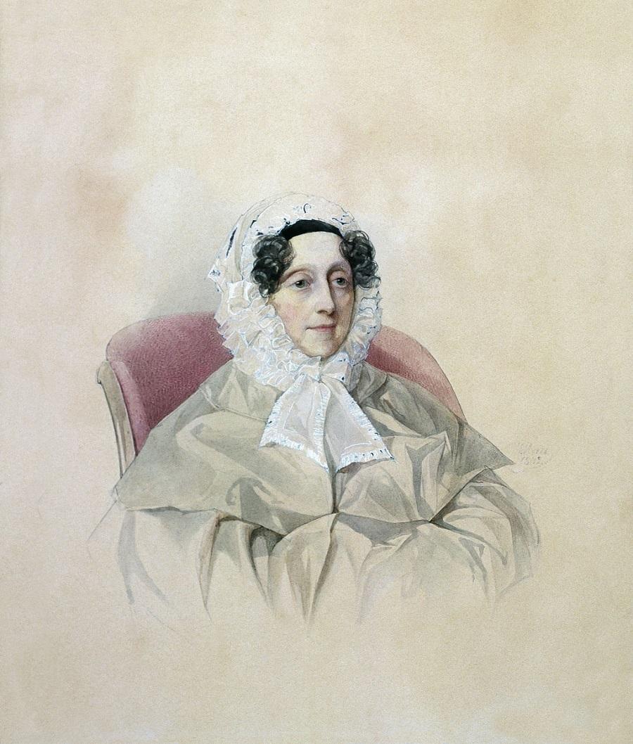 Гау Владимир Иванович  Портрет А.А. Голицыной 1842.jpg
