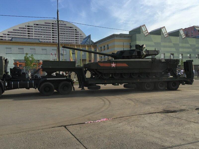 Новый российский танк Т-14 Армата